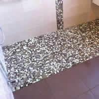 Rénovation Salle de Bains Bordeaux - Salle de bains avec douche mosaïque